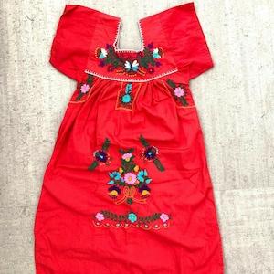 Set of two Guatemalan Girls Embroidered Sundress Size 1