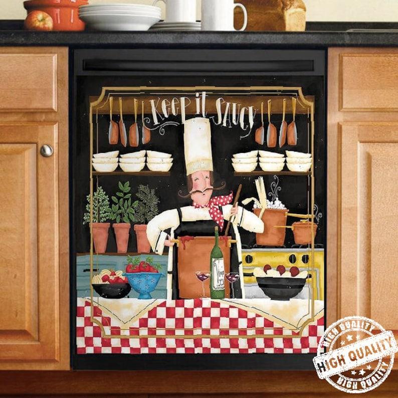 Gearhuman – Chef Keep It Saucy Christmas Gift Vintage Kitchen Decor