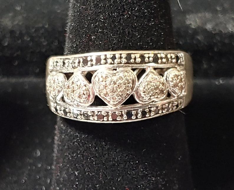 Diamonds Ring Sterling Silver