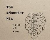 The MonsterMix Planting Medium, Soil For Aroids, Monstera, Variegated Monstera 2.5l, 5l or 10l Packs delivered FOR FREE )