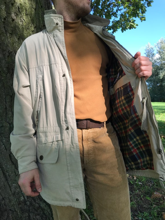 Vintage 90's men's parka coat SympaTex Parka Long
