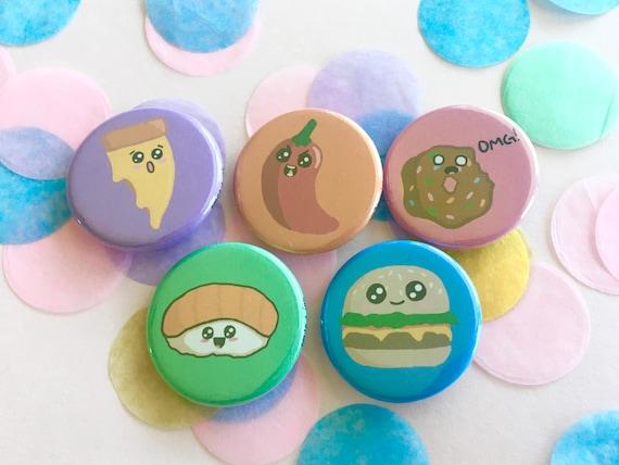 Food pinsmagnets