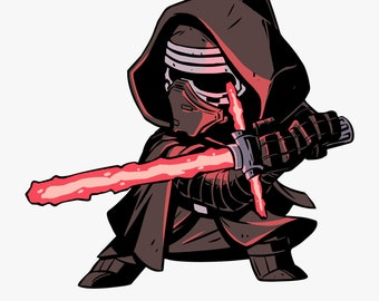 Sith Lord Kylo Ren Car Air Freshener - Black Ice Scent