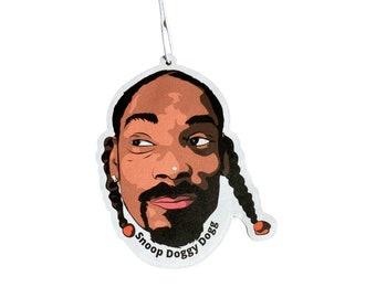 Snoop Doggy Dogg Car Air Freshener - Black Ice scent - Iceflame Air Freshener