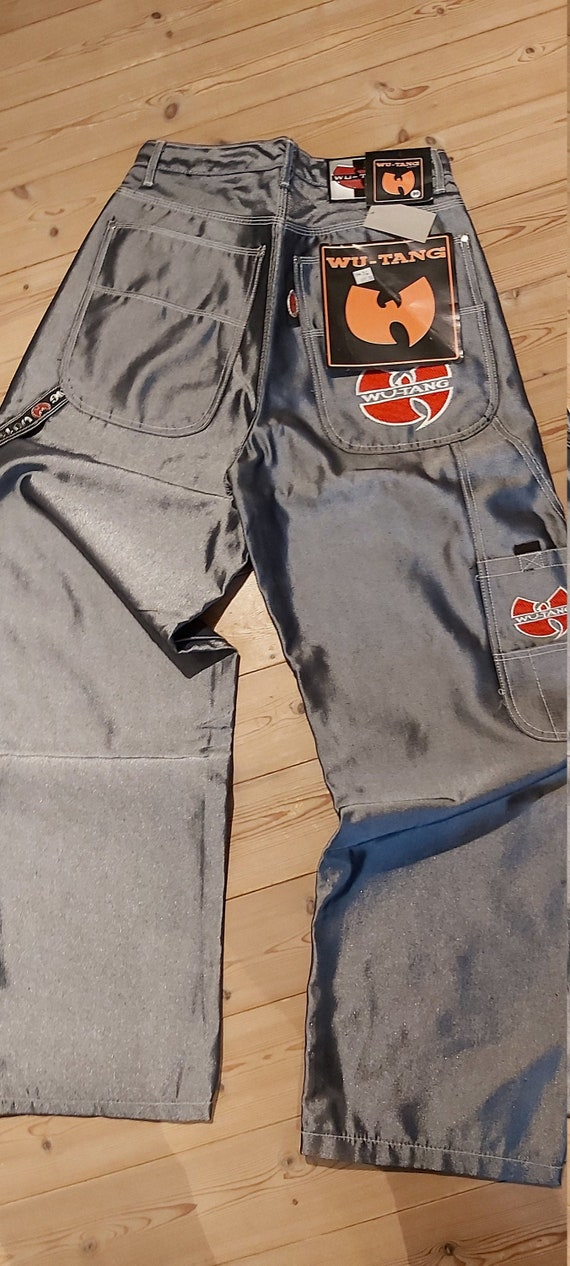 WU TANG - Rare baggy silver jeans! Limited amount!