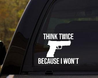 F*ck Gun Control Car Sticker Decal Accessories Vinyl DecalPatriotic
