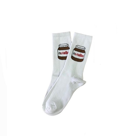 Nutella Green Socks  Unisex Socks