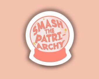 Letterpress Editon SALE Smash the Patriarchy Limited Edition Pin Set