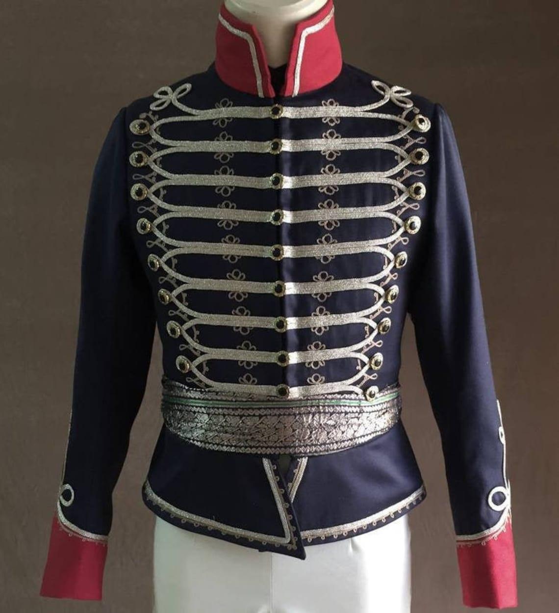 1800s Hussar Uniform,mens Natal Carbineers Officers Patrol Jacket,mens Military Style Jacket