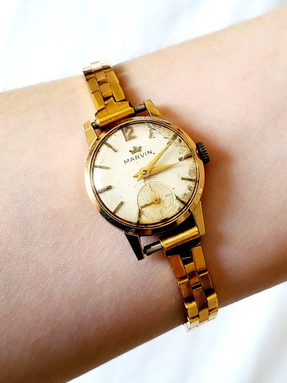 Marvin 18k Solid Gold Ladies watch