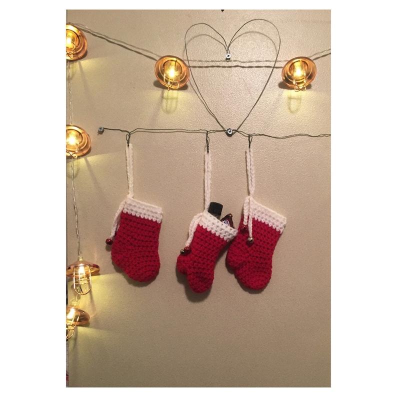 Stocking Christmas Tree Ornament