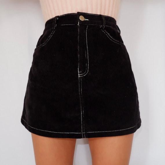 Corduroy Lover Vintage Skirt