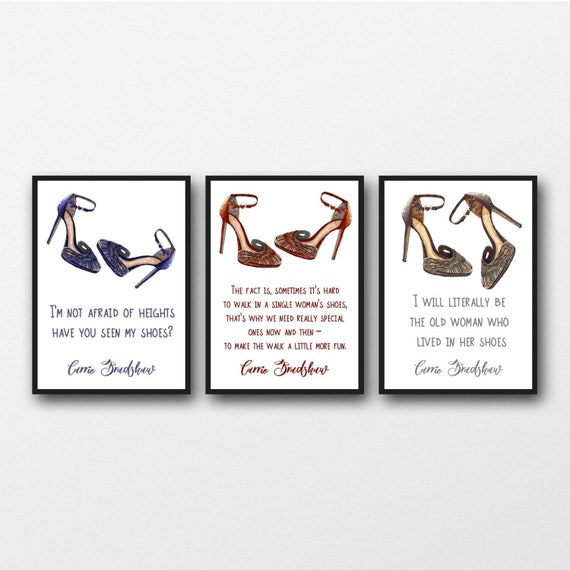 Carrie Bradshaw Shoe Quotes