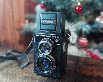 Vintage camera LOMO Lubitel-166 Universal 6x6 4.5x6+case