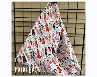 Under the Sea Dance Origami-Style Market/Tote Bag