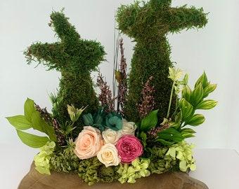Table floral composition