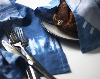 Indigo Dinner Napkin Set