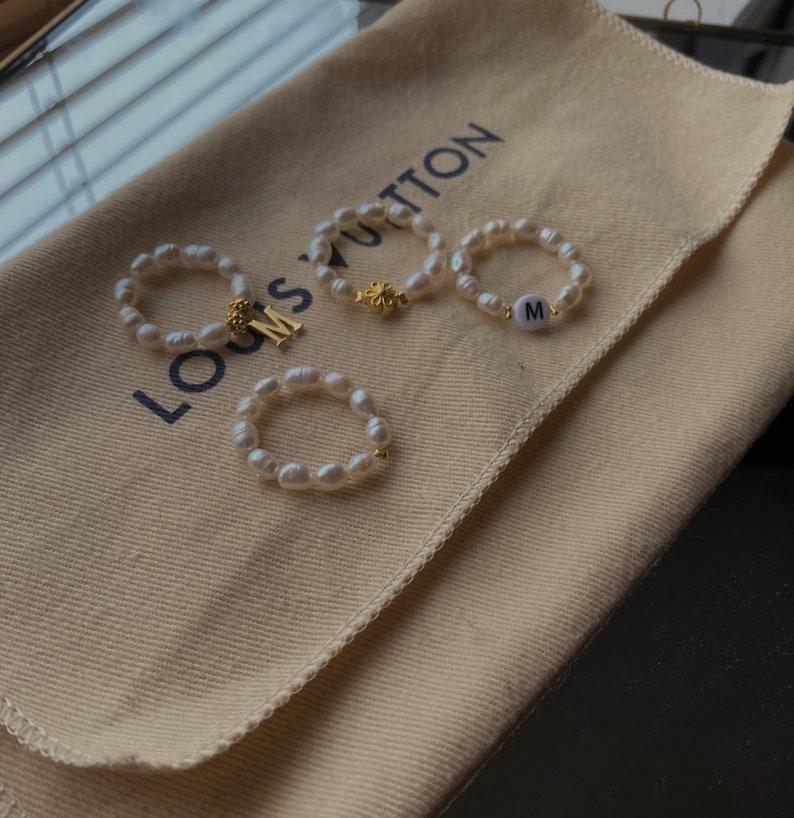 Plain Jane Pearl ring