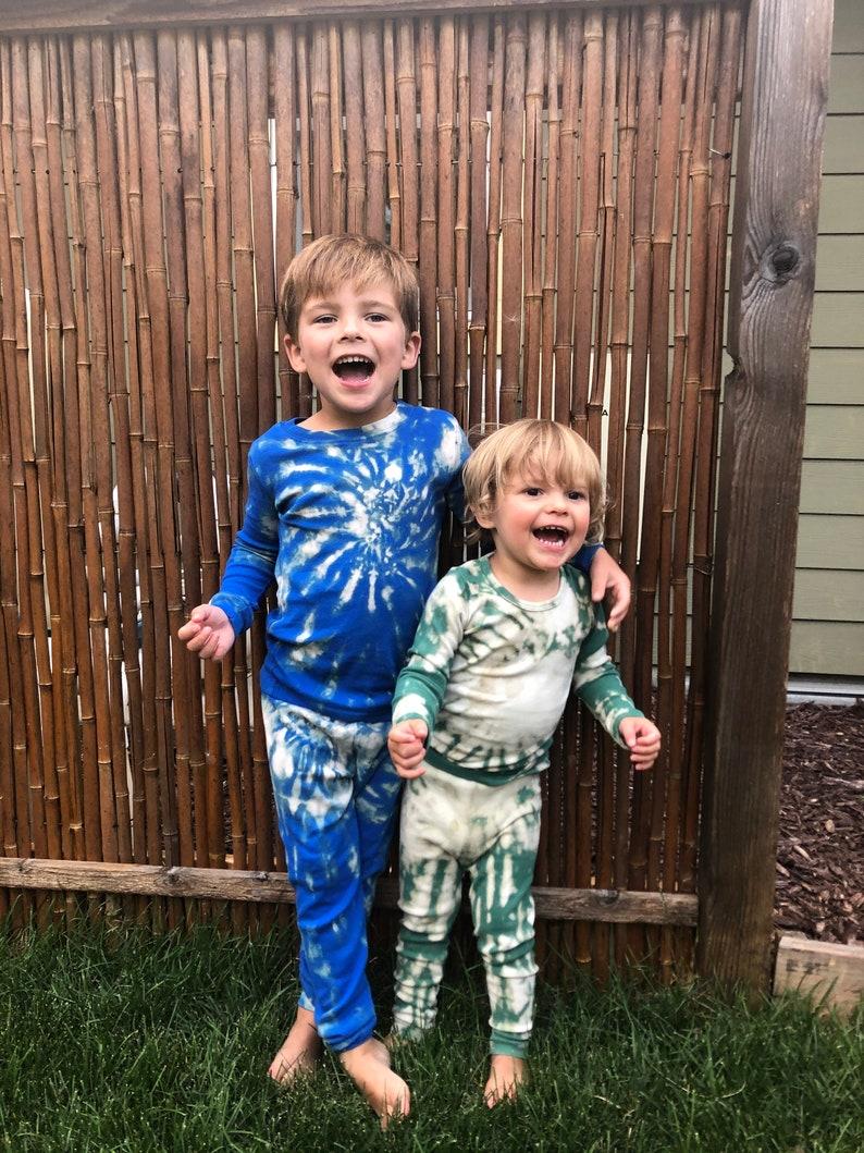 ToddlerKids Reverse Tie-Dye Lounge Set