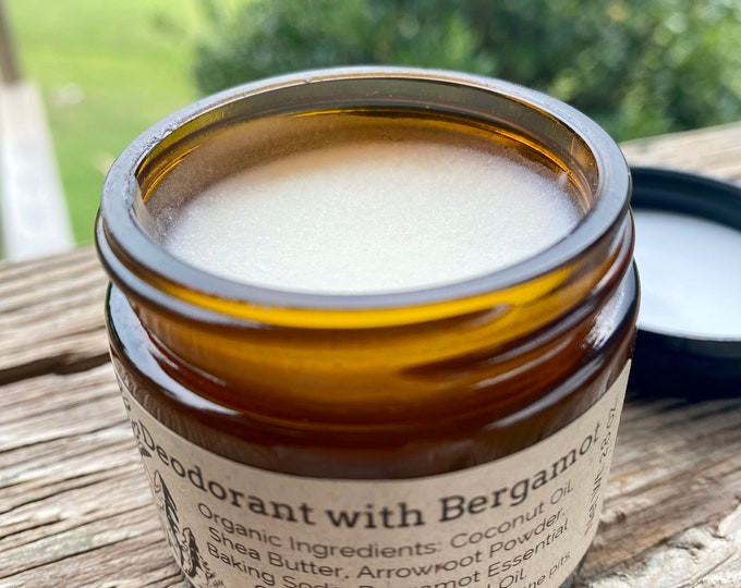 Natural/Organic Deodorant- Bergamot!