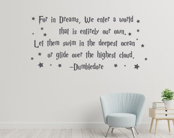 -2$ Harry Potter Big Wall Stickers Harry Large Art Quotes Wall Decals 80*57cm