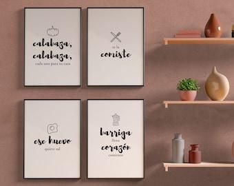 Cuban Wall Decor, Cuban Kitchen Decor, Cuban Quotes, Cuban Art, DIGITAL DOWNLOAD