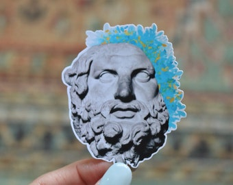Greek Statue Sticker Etsy