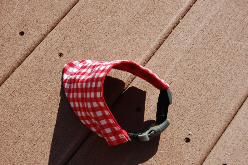 Over the Collar Picnic Basket Dog Bandanna