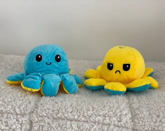 Yellow octopus plush   Etsy