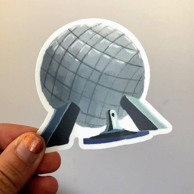 Spaceship Earth Sticker