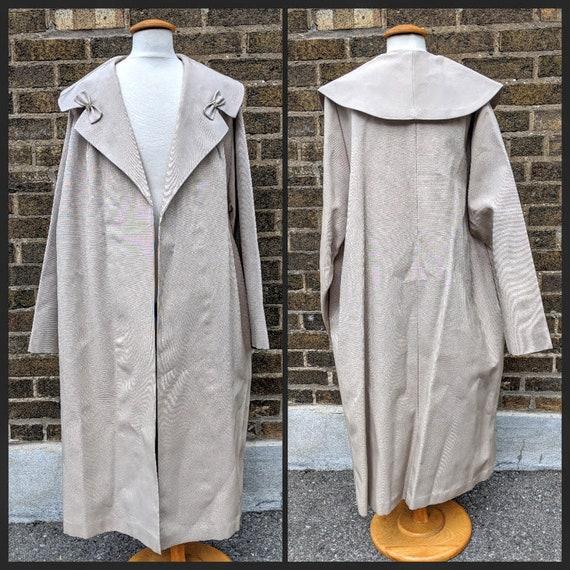 50s Dress Coat Beige