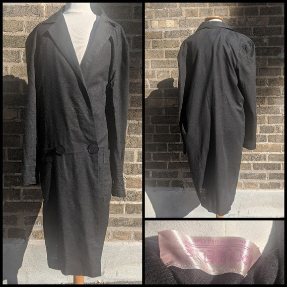 Long 80s Pourelle Blazer/ Dress