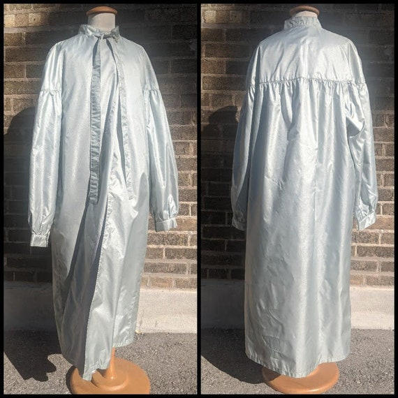 Silver Pussy Bow Rain Coat