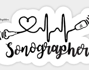 Medical Stickers | Ultrasound tech, Diagnostic medical sonography, Ultrasound  sonography