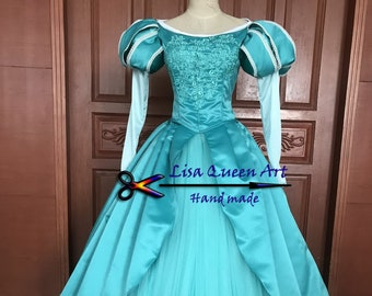 The Little Mermaid Ariel Cosplay costume adult  Ariel cosplay dress for girls and Women Customized