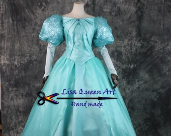 The Little Mermaid Ariel Cosplay costume adult  Ariel cosplay dress for girls and Women