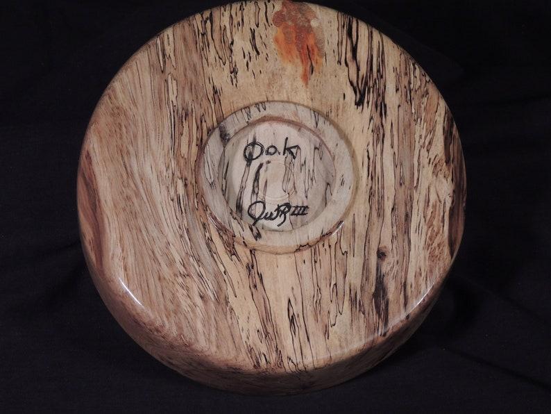 lathe turned bowl natural bowl custom made bowls decorative bowl wood bowl hand made bowls reclaimed wood bowls Oak bowl