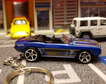 1969 Chevy Camaro Fast /& Furious Keyring Keychain Key Fob