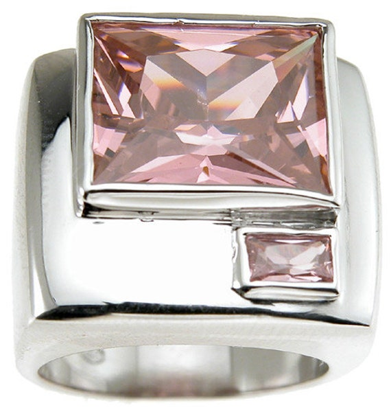 High Fashion Bezel Anniversary Ring