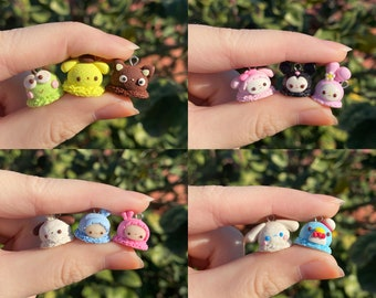 Polymer Clay Character Ice Cream Scoops