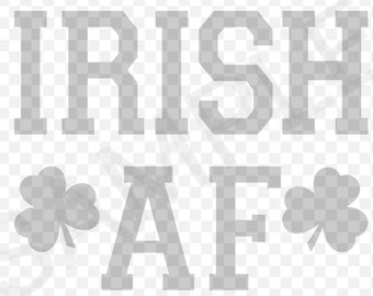 Irish AF SVG