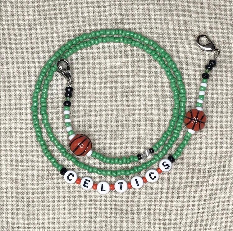 Boston CELTICS Handmade Earrings