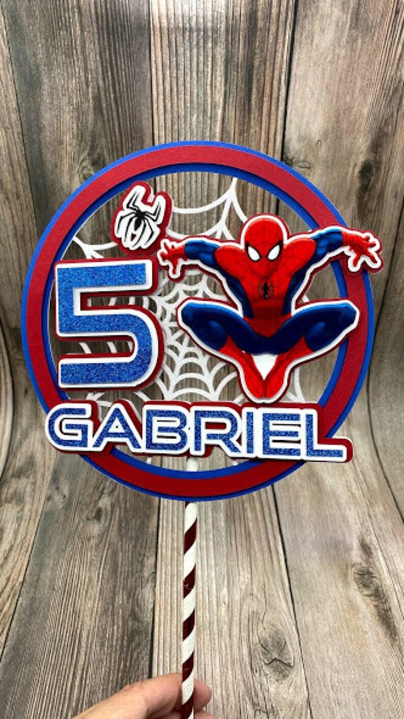 Super Hero Cake Topper Spider-man Cake Topper
