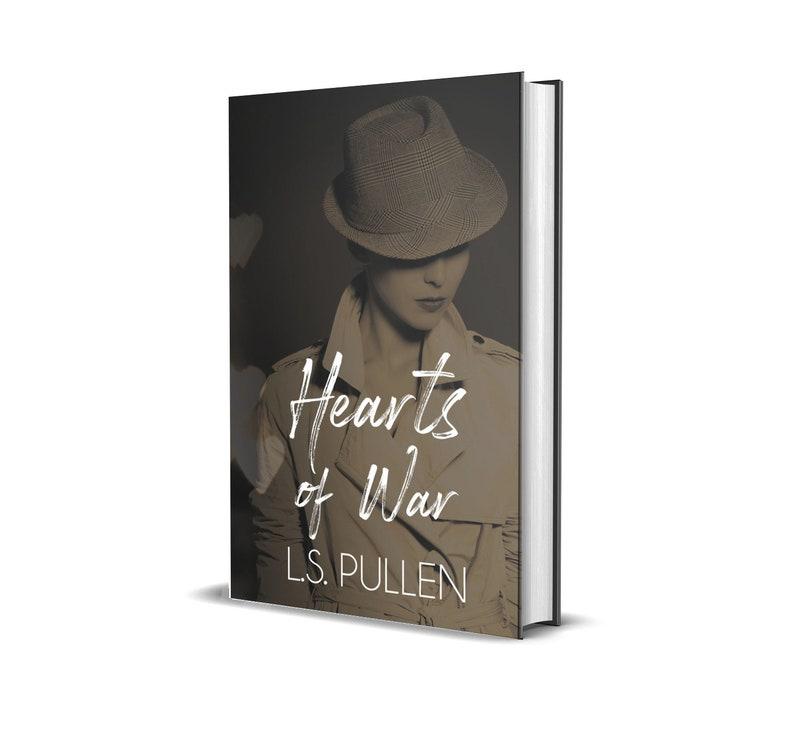 Hearts of War Original Cover Signed Paperback image 0