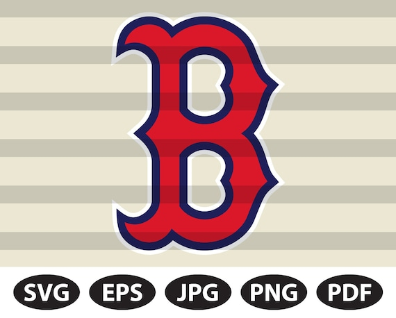 Boston SVG /& Studio 3 Cut File Stencil Decal Files Logo for Silhouette Cricut SVGS Cutouts Baseball Decals Red Sox
