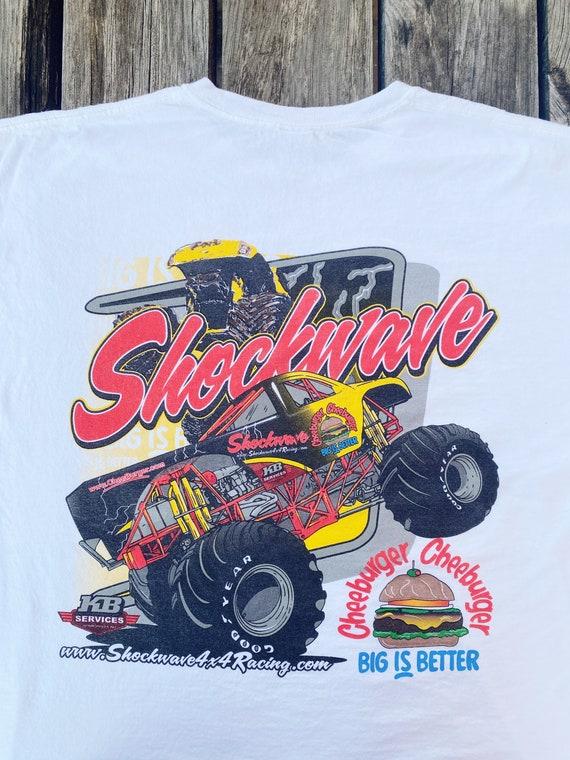 2000's Monster truck 4x4 racing t-shirt