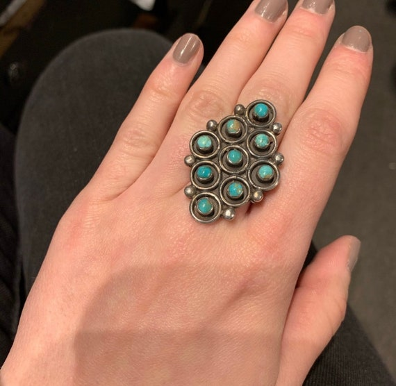 Old Pawn Turquoise Ring