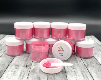 Mica Powder - Light Pink Pearl for car freshies, soap making, candle making and resin.