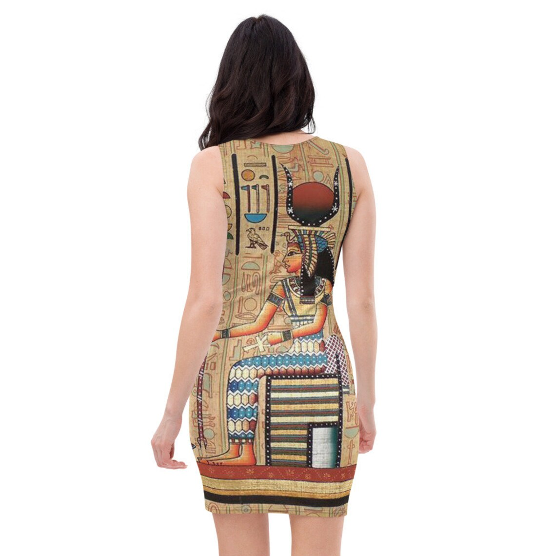 Ancient Egypt Egyptian Revival Isis Wings Witch Dress