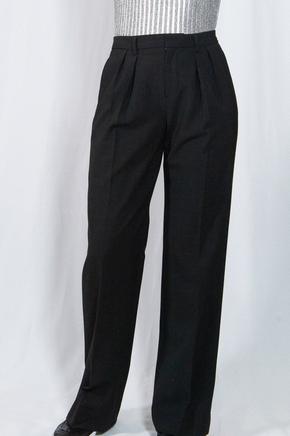 Vintage Y2K Gap Black High Waisted Trousers